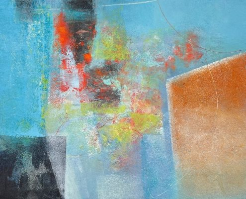 Unintended Consequences 20x16 Oil, Cold Wax on paper (1)